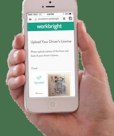 Upload Drivers License Mobile